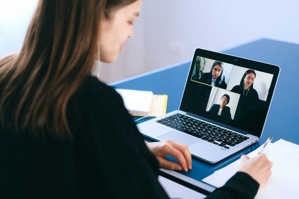 industries during the pandemic - online meeting platforms